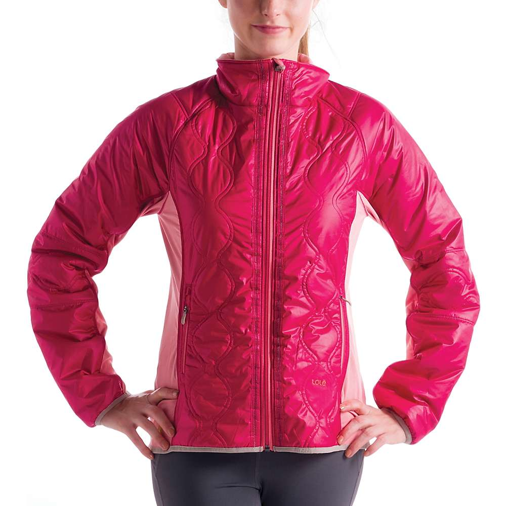 Lole Women's Glee Jacket - Large - Red Sea