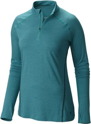 Mountain Hardwear Women's Integral Pro Long Sleeve Zip T Shirt