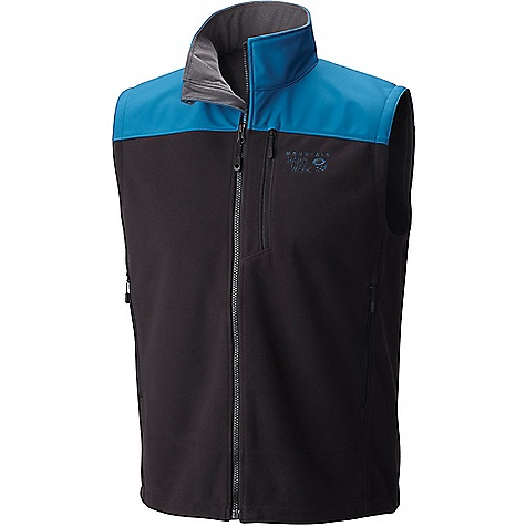 Mountain Hardwear Men's Mountain Tech II Vest Black / Phoenix Blue