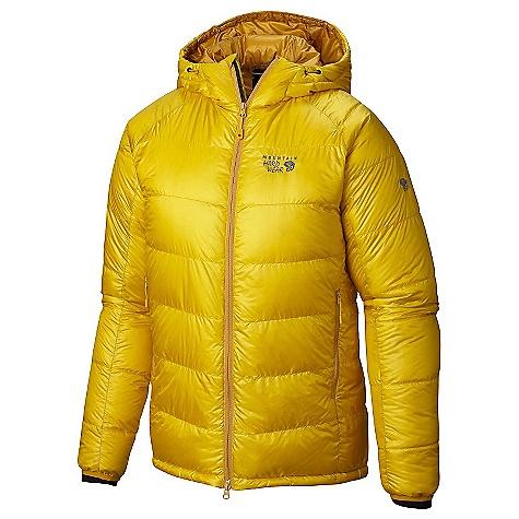Mountain Hardwear Men's Phantom Hooded Down Jacket Electron Yellow