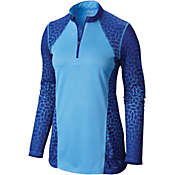 Mountain Hardwear Women's Wicked Electric Long Sleeve Zip Tee