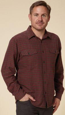 Royal Robbins Men's Check Flannel Long Sleeve Shirt