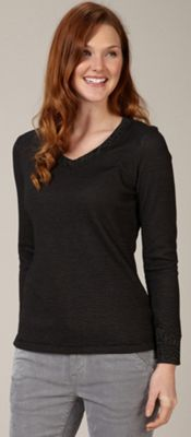 Royal Robbins Women's Torrey Thermal V Neck Top