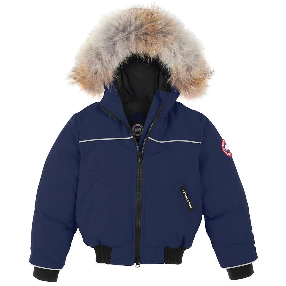 canada goose kids 39 grizzly bomber jacket at. Black Bedroom Furniture Sets. Home Design Ideas