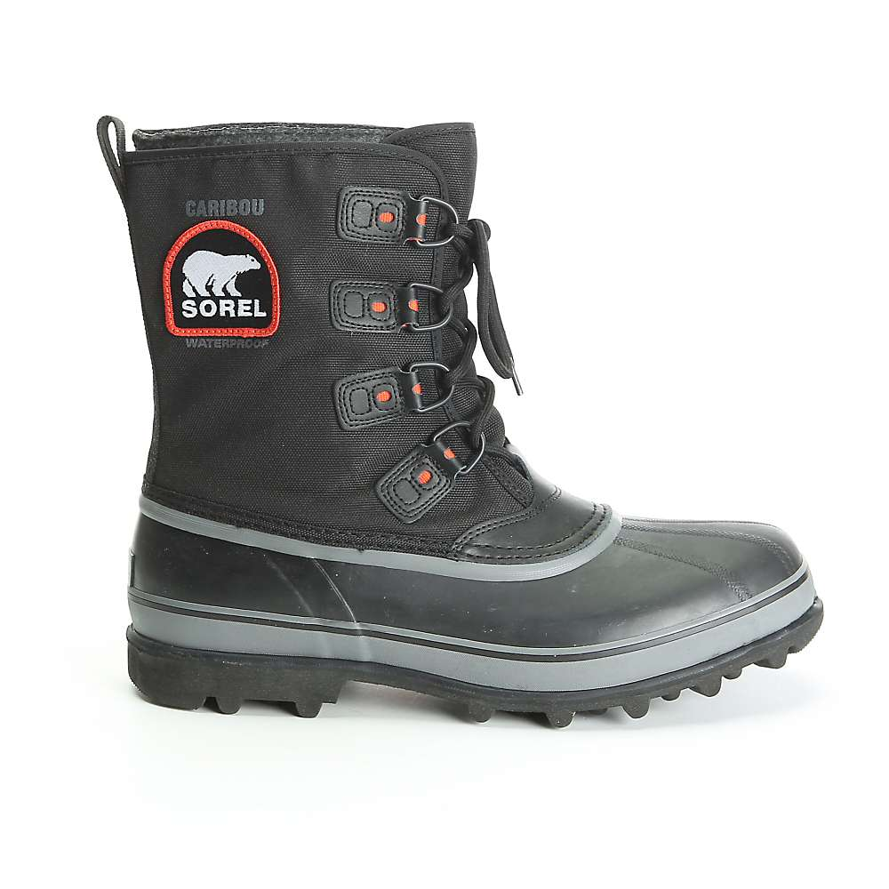 Sorel Men's Caribou XT Boot - 14 - Black / Shale