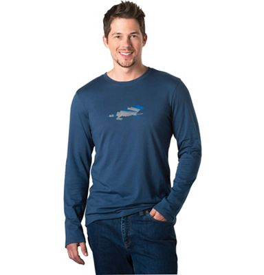 Horny Toad Men's Fault Block Long Sleeve Tee
