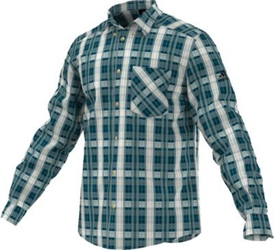 Adidas Men's Hiking Flannel Long Sleeve Shirt