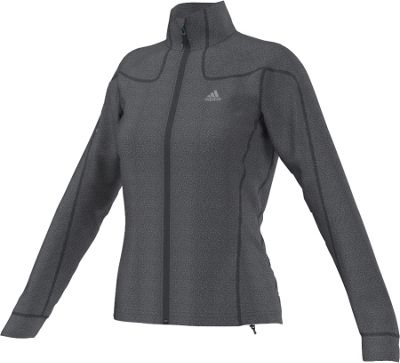 Adidas Women's Hiking Melange Fleece Jacket