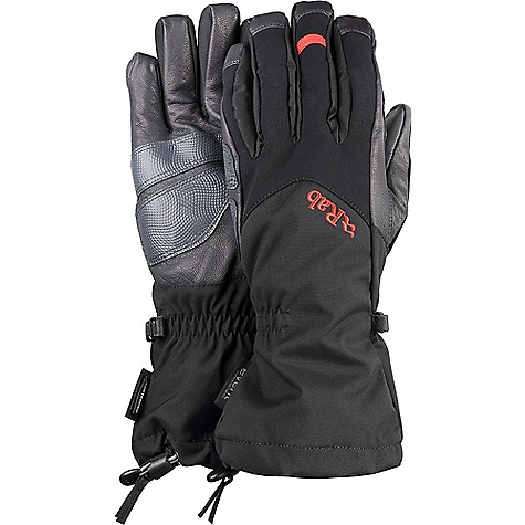 Rab Men's Icefall Gauntlet Glove Black