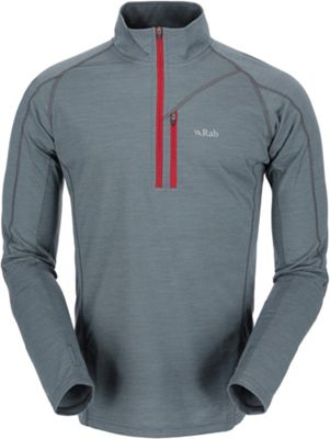 Rab Men's MeCo 190 Long Sleeve Zip Tee