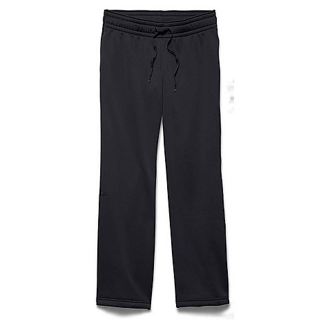 Under Armour Women's Armour Fleece Pant Black / Black 006