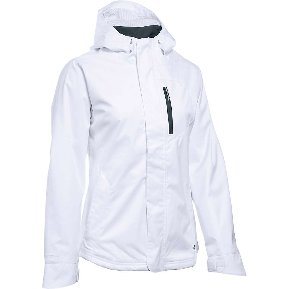 Under Armour Women's UA ColdGear Sienna 3 in 1 Jacket - Small - White / Steel