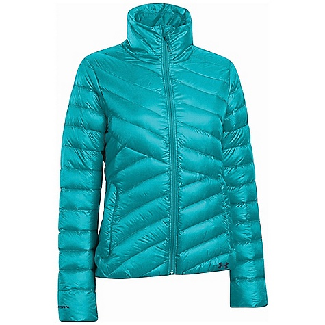 Under Armour Women's UA ColdGear Infrared Uptown Jacket Breathtaking Blue / Russian Nights