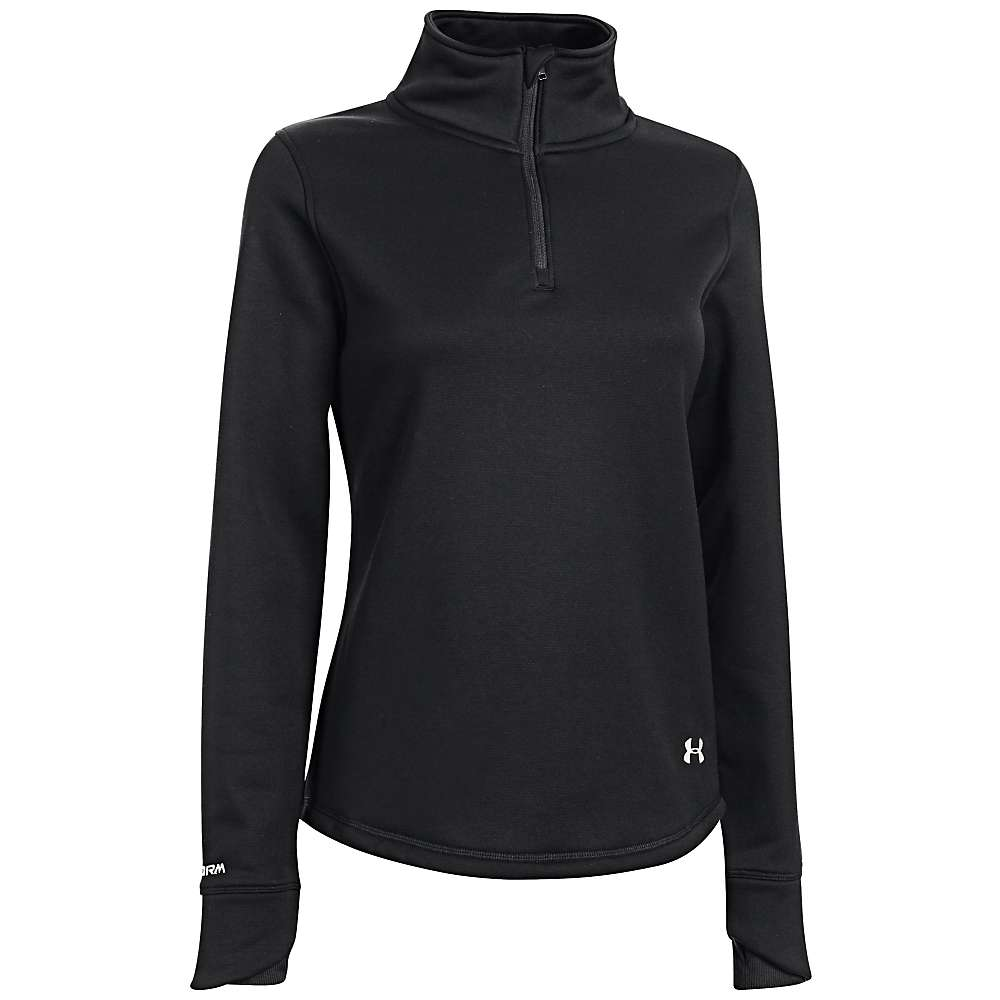 Under Armour Women's Delma 1/4 Zip Top - Small - Black / Ivory
