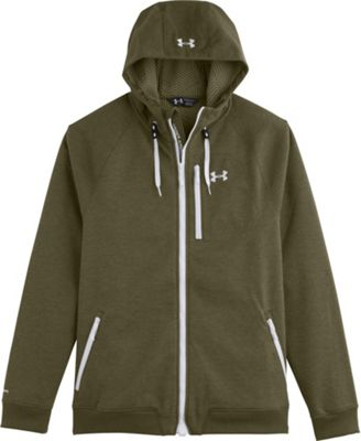 Under Armour Men's UA ColdGear Infrared Dobson Cotton SoftShell Hooded Jacket