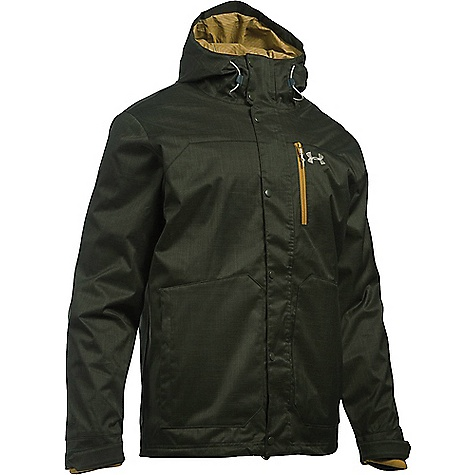 Under Armour Men's UA ColdGear Infrared Porter 3 in 1 Jacket Artillery Green / Greystone