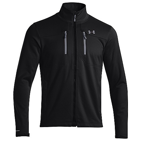 Under Armour Men's UA ColdGear Infrared Softershell Jacket Black / Steel