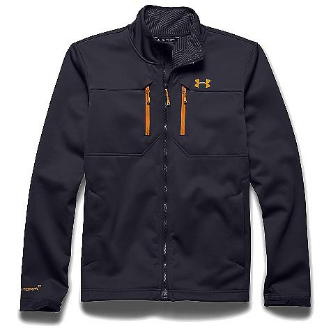 Under Armour Men's UA ColdGear Infrared Softershell Jacket Stealth Grey / Cabana