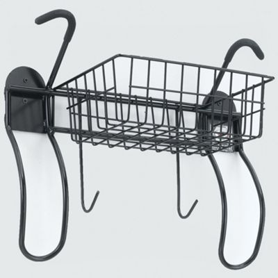 Gear Up 2 Bike Vertical Wall Mount With Basket