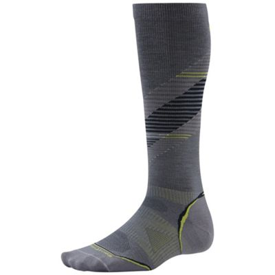 Smartwool PhD Run Graduated Compression Ultra Light Pattern Sock