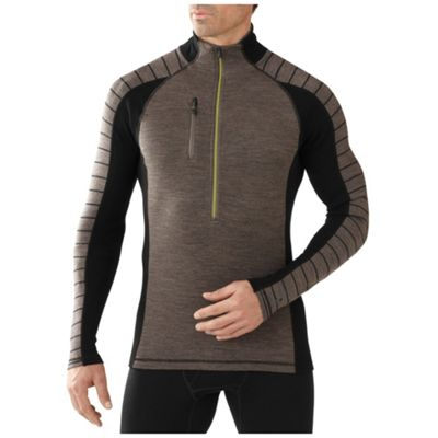 Smartwool Men's PhD NTS Mid 250 Funnel Zip Top