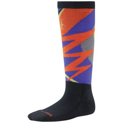 Smartwool Kids' Wintersport Lightning Bolt Sock