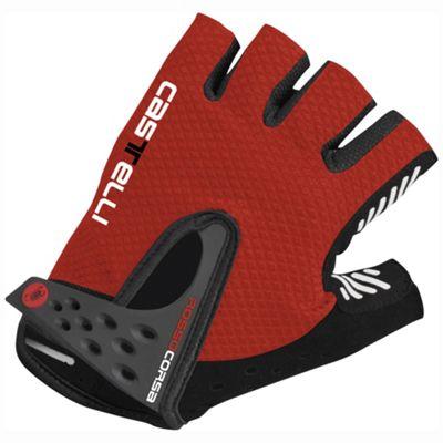 Castelli Men's S. Rosso Corsa Glove