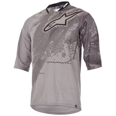 Alpine Stars Men's Manual 3/4 Sleeve Jersey