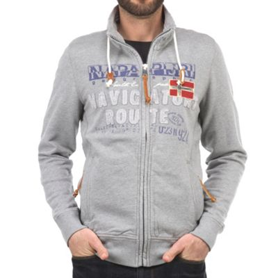Napapijri Men's Babylonia Full Zip Sweatshirt