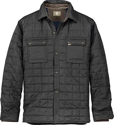 Timberland Men's Long Sleeve Millers River Quilted Overshirt