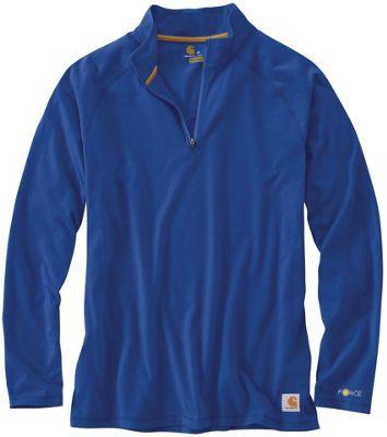 Carhartt Men's Force Cotton Delmont Quarter Zip Shirt