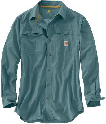 Carhartt Men's Force Mandan Solid Long Sleeve Shirt