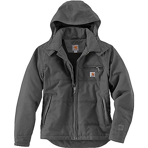 Carhartt Men's Quick Duck Livingston Jacket Charcoal