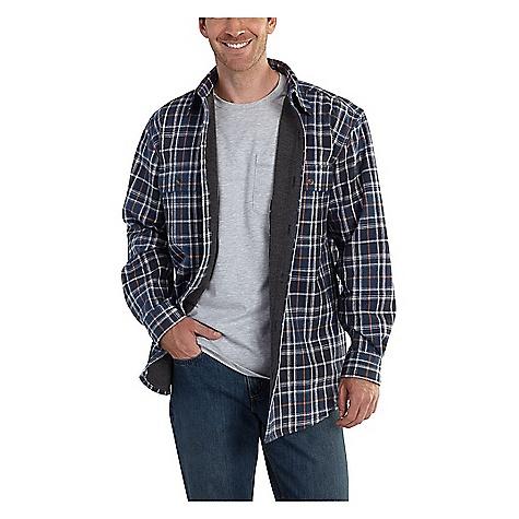 Carhartt Men's Rain Defender Youngstown Flannel Shirt Jacket