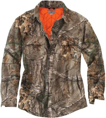 Carhartt Men's Wexford Camo Shift Jacket