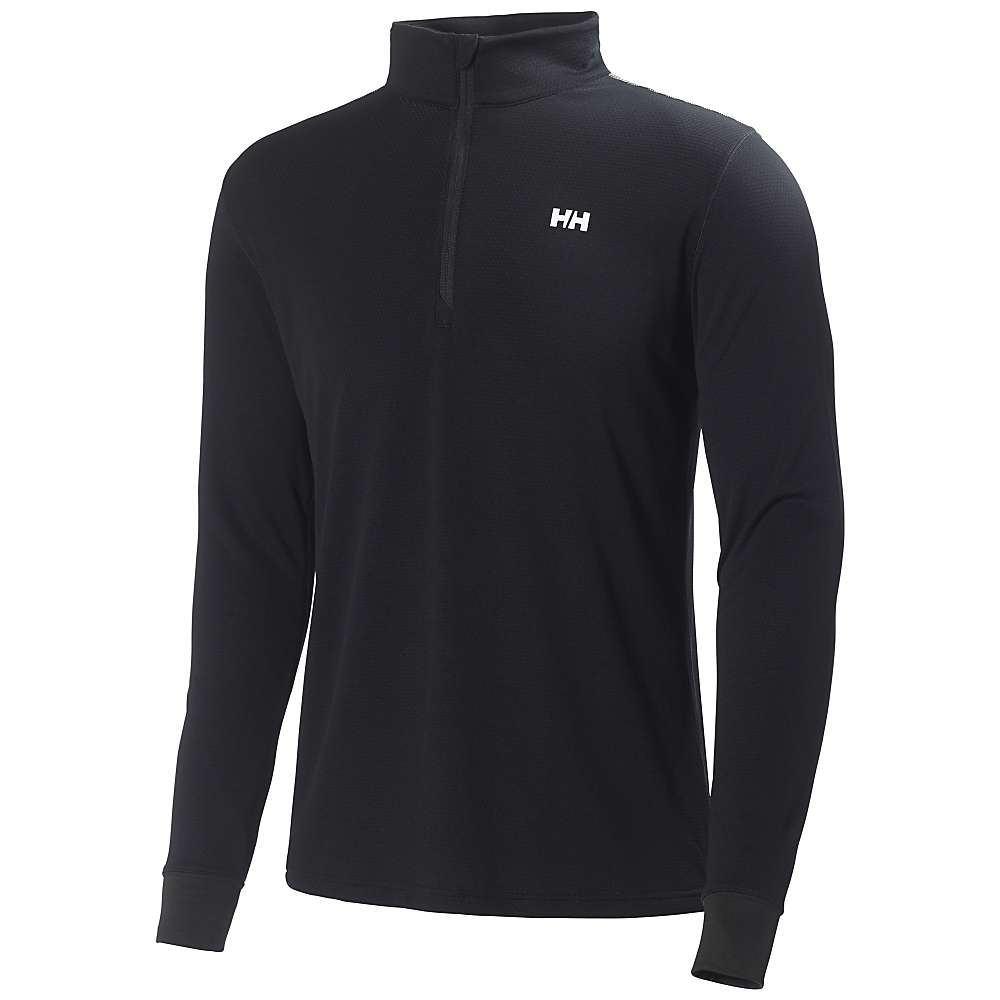 Helly Hansen Men's HH Active Flow 1/2 Zip Top - Small - Black