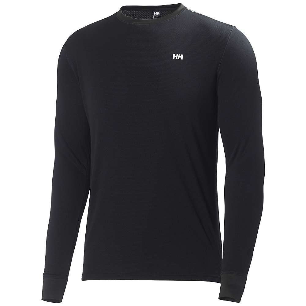 Helly Hansen Men's HH Active Flow Long Sleeve Top - Small - Black