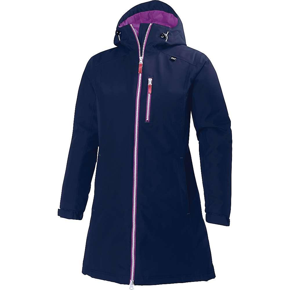 Helly Hansen Women's Long Belfast Winter Jacket - Small - Evening Blue