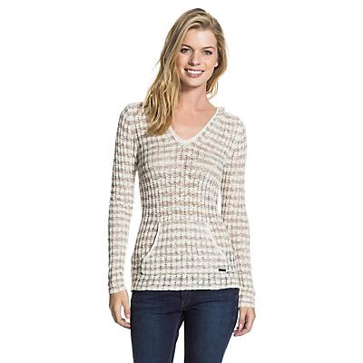 Roxy Women's White Caps Sweater
