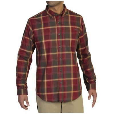 ExOfficio Men's Arabica Plaid Long Sleeve Shirt