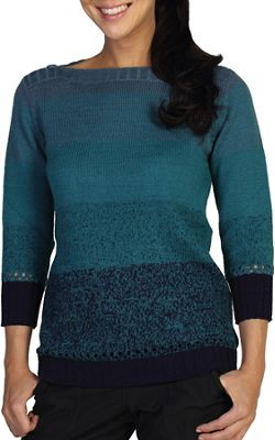 ExOfficio Women's Cafenista Ombre Boatneck Top
