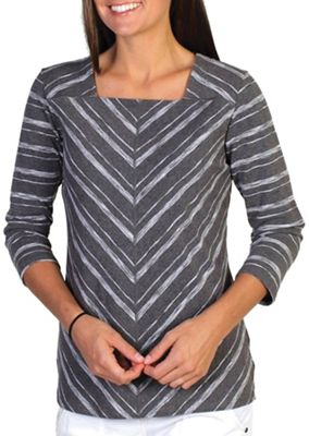 ExOfficio Women's Chica Cool Stripe Square Neck Top