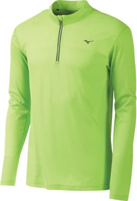 Mizuno Men's BT Body Mapping Long Sleeve Half Zip