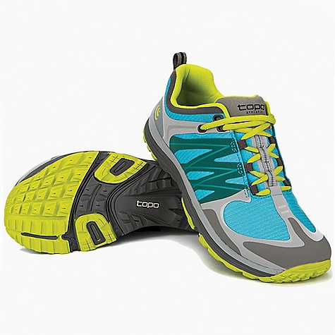 photo of a Topo Athletic trail running shoe
