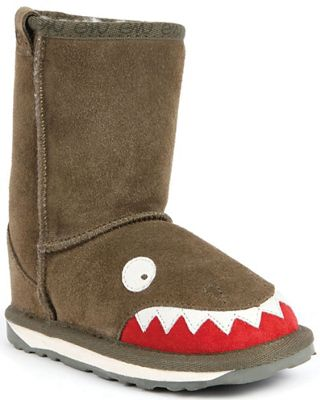 EMU Kids' Little Creatures Croc Boot