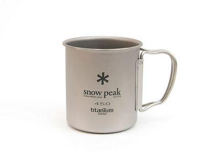 Snow Peak Single Wall 450 Cup