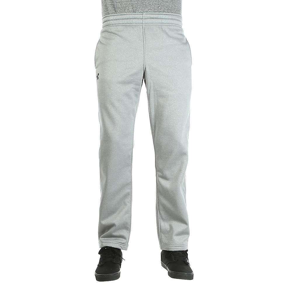 Under Armour Men's Storm Armour Fleece Pant - XL - True Grey Heather / Black