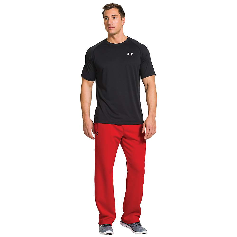 Under Armour Men's Storm Armour Fleece Pant - Small - Risk Red / Anthracite