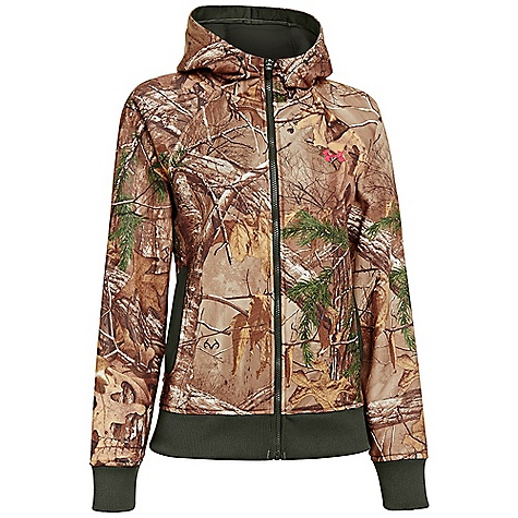 Under Armour Women's UA Camo Full Zip Hoody Realtree AP-Xtra / Perfection