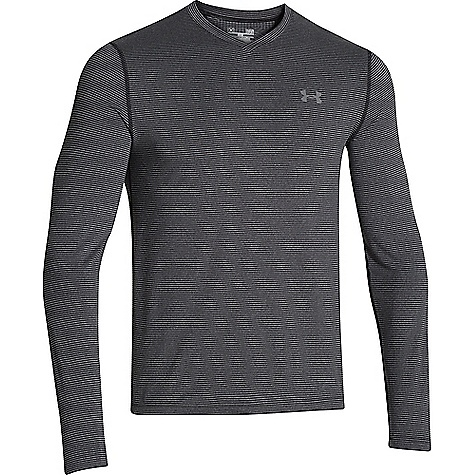 Under Armour Men's ColdGear Infrared Long Sleeve Tee Black / Graphite